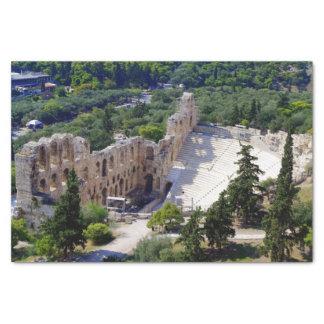 "Theater of Herod Atticus - Athens 10"" X 15"" Tissue Paper"