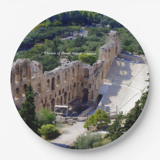Theater of Herod Atticus - Athens Paper Plate