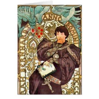 Theater Playbill 1896 Card