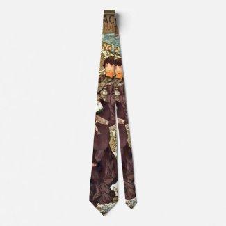 Theater Playbill 1896 Tie