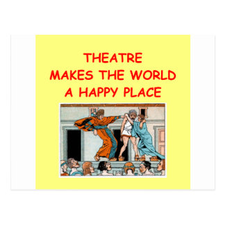 theater postcard