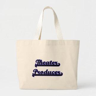 Theater Producer Classic Job Design Jumbo Tote Bag