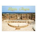 Theater Ruins at Leptis Magna, Libya Postcard