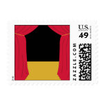 Theater Scene Postage Stamps