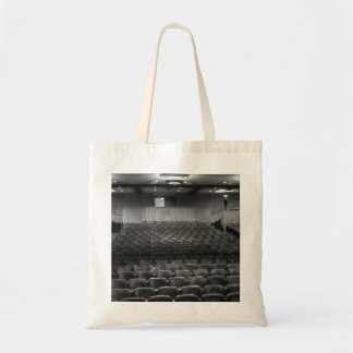 Theater Seating Black White Photo Budget Tote Bag