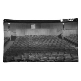 Theater Seating Black White Photo Cosmetics Bags