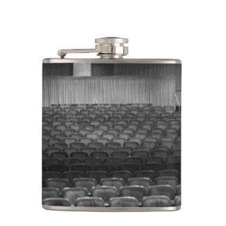 Theater Seating Black White Photo Flasks