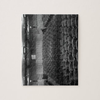 Theater Seating Black White Photo Jigsaw Puzzles