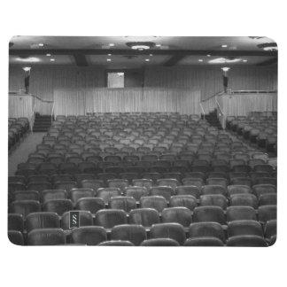 Theater Seating Black White Photo Journal