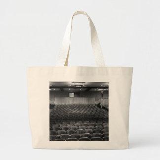 Theater Seating Black White Photo Jumbo Tote Bag