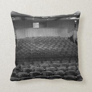 Theater Seating Black White Photo Pillows