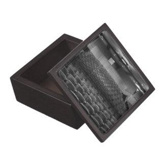 Theater Seating Black White Photo Premium Trinket Boxes
