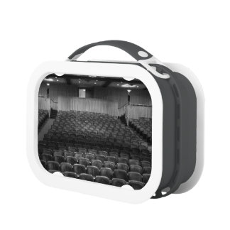 Theater Seating Black White Photo Replacement Plate