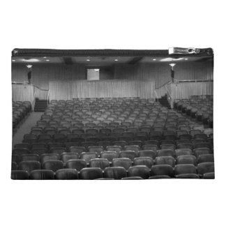 Theater Seating Black White Photo Travel Accessory Bags