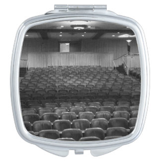 Theater Seating Black White Photo Travel Mirrors