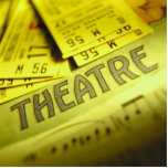 Theater Sheet Music & Tickets Photo Cut Out
