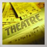 Theater Sheet Music & Tickets Print