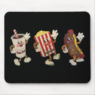 Theater snack trio mousepad