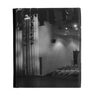Theater Stage Black White Photo iPad Case