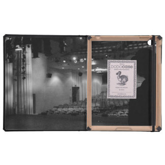 Theater Stage Black White Photo Covers For iPad