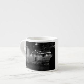 Theater Stage Black White Photo Espresso Mugs