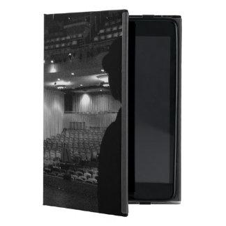 Theater Stage Black White Photo iPad Mini Covers