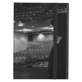 Theater Stage Black White Photo iPad Air Cover