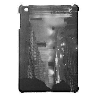 Theater Stage Black White Photo iPad Mini Cover