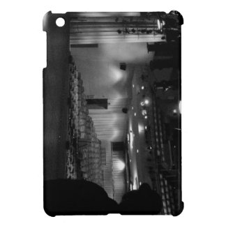 Theater Stage Black White Photo Cover For The iPad Mini