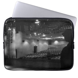 Theater Stage Black White Photo Laptop Computer Sleeves