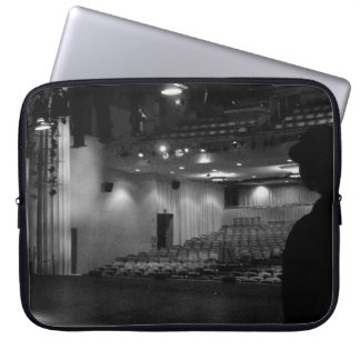 Theater Stage Black White Photo Laptop Sleeve