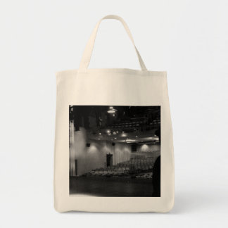 Theater Stage Black White Photo Tote Bag