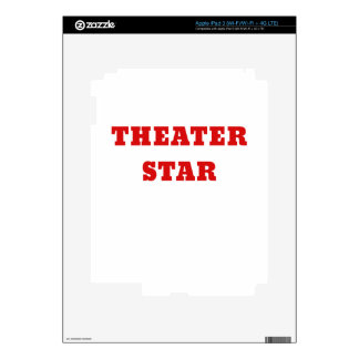 Theater Star iPad 3 Decals
