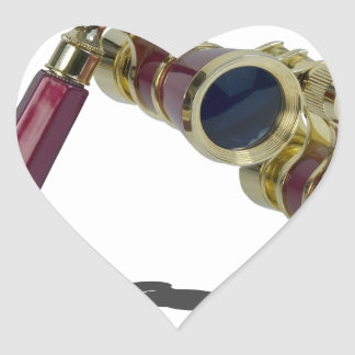 TheaterGlasses122814 Heart Sticker