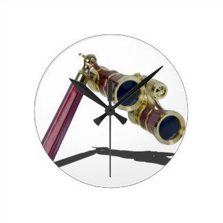 TheaterGlasses122814 Round Clock