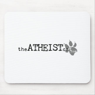 theATHEISTcat.com Official Atheist Cat Apparel Mouse Pad