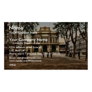 Theatre and promenade, Beziers, France classic Pho Double-Sided Standard Business Cards (Pack Of 100)
