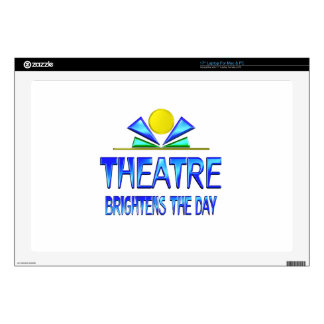Theatre Brightens the Day Decal For Laptop