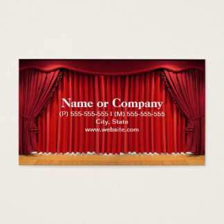 THEATRE BUSINESS CARD