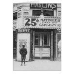 Theatre de Havlin, 1910 Felicitacion