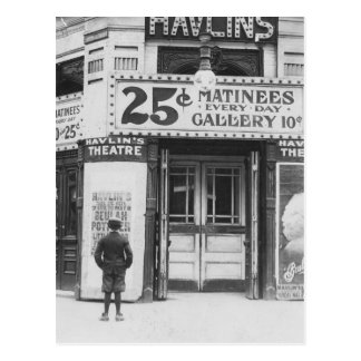 Theatre de Havlin, 1910 Postal