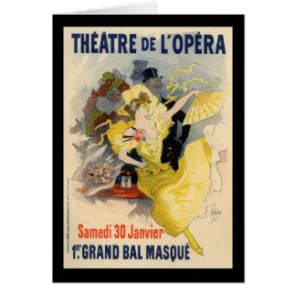 Theatre de l'Opera Card