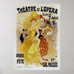 ~ Theatre de L'Opera de Julio Cheret Póster