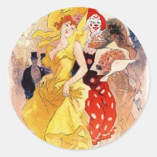 Theatre de l'Opera - Grand Fete, Jules Cheret Sticker
