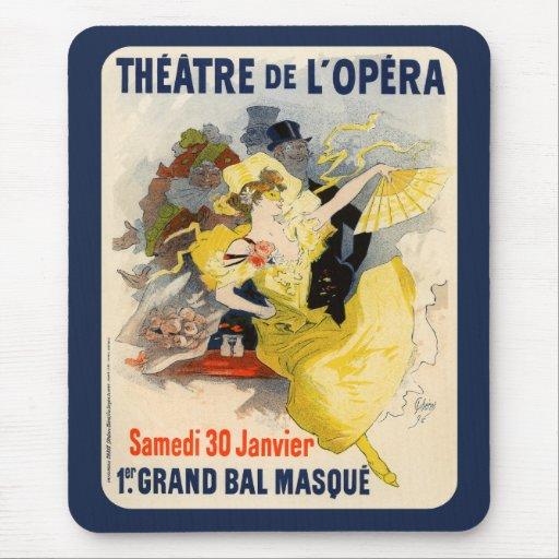 Theatre de l'Opera, Jules Chéret Mouse Pad