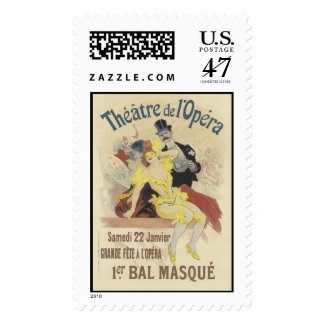 Theatre de l'Opera Postage Stamp