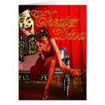 Theatre Diva Collage Greeting Cards