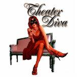 Theatre Diva Collage Photo Cutouts