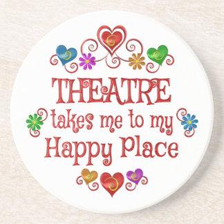 Theatre Happy Place Coaster