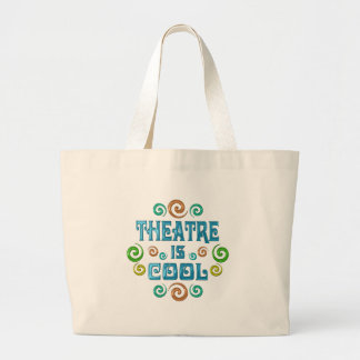 Theatre is Cool Canvas Bags